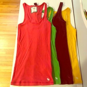 Abercrombie & Fitch layering tank tops size Medium